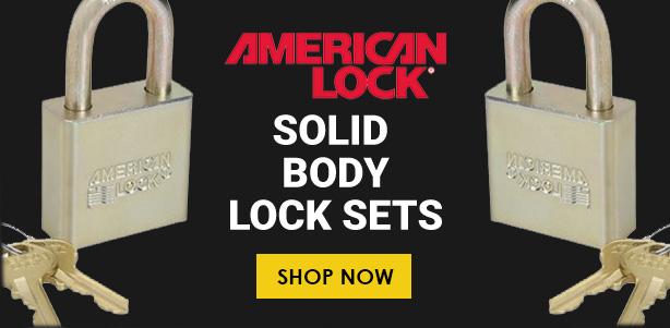 Shop American Lock Solid Body Lock Sets